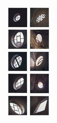 Ten Windows (set of 10) by Jan Dibbets
