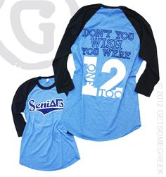 Delta Gamma Seniors Shirt from Washington University in St. Louis!!