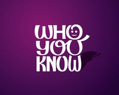 Who You Know by SimonFenix   (for a Media company)