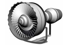 General Electric CF6-80C2 Engine Free Paper Model Download - http://www.papercraftsquare.com/general-electric-cf6-80c2-engine-free-paper-model-download.html#133, #CF680C2, #Engine, #GeneralElectric, #GeneralElectricCF6, #GeneralElectricCF680C2
