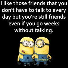 Funny Minion Meme About Friends