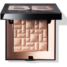 Bobbi Brown Sunset Pink Collection Highlighting Powder Afternoon Glow (€41) ❤ liked on Polyvore featuring beauty products, makeup, face makeup, face powder, bobbi brown cosmetics and highlight face makeup