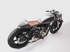 Slick Metal - I really like bikes with no paint. It shows how good the metal work is.