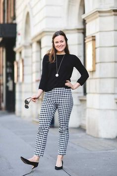 Fern Ross, Associate Editor (Production) Zara top and trousers, Office shoes, Le Specs sunglasses, Monica Vinader necklace