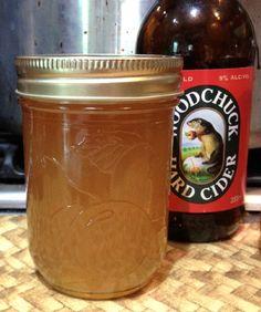 Helle's Kitchen Hard Cider Jelly:
