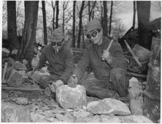 Many of the Minnesota State Parks' log and stone buildings, sea walls and picnic shelters were built by some of the 29% of Minnesota men who were unemployed during the Great Depression. These men signed up for the Civilian Conservation Corps, part of Franklin Roosevelt's New Deal. They were given food, lodging, and $25 a month, and in return they fought fires, constructed and maintained trails and telephone lines, and numerous other projects benefiting the citizens of Minnesota.