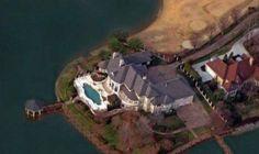 Aerial  View North Carolina Home Michael Jordan Bought