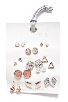 Rose Gold-Tone Earring Set | GUESS