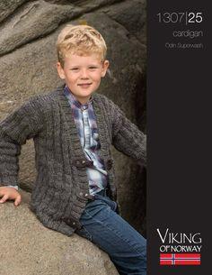 Odin Superwash Cardigan – 1307-25 | Knitting Fever Yarns & Euro Yarns