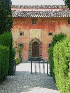 Villa Vignamaggio Greve, Firenze, Italy