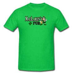 MacLaren's Pub Tee – How I Met Your Mother      Straight out of MacLaren's Pub. In 20 different colors. Classic-cut t-shirt for men, 100% pre-shrunk cotton  $17.00