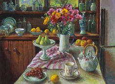Margaret Olley, the Australian artist best know for her beautiful still life paintings.