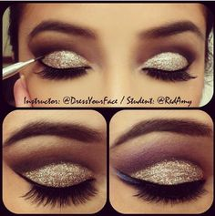 Cut crease eye make up Pretty Makeup, Love Makeup, Makeup Inspo, Makeup Inspiration, Gorgeous Makeup, Teal Makeup, Style Inspiration, Prom Makeup, Wedding Makeup