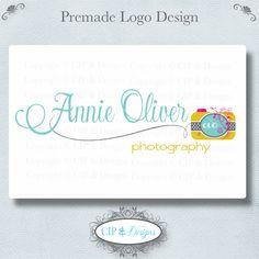 Premade Logo and Watermark...Pre made logo design...Premade Photography Logo. $18.00, via Etsy.