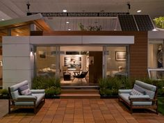 Dwell Showhouse PieceHomes - solar