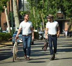 Denim Street Style From Abound The Globe (from The Jeans Blog). How do you style your favorite pair of blues?