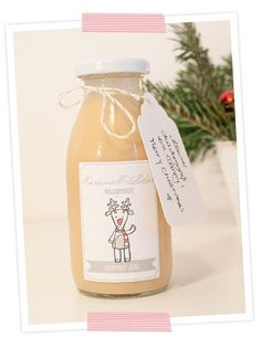 Advent calendar door No. Delicious caramel liqueur – Famous Last Words Christmas Night, Christmas Is Coming, Wrapping Gift, Liqueur, Shaped Cookie, Cocktail Drinks, Cocktails, Food Gifts, Christmas Inspiration