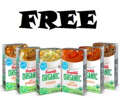 FREE Campbell's Organic Soup