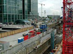 The Changing Landscape of the Docklands Area – London Buzz London Docklands, Isle Of Dogs, London Photos, Past, Fair Grounds, Construction, Landscape, City, Travel