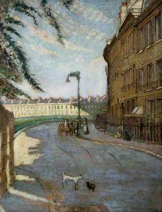 Walter Sickert. Lansdown Crescent, Bath