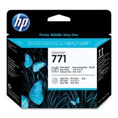 HP 771 Photo Black, Light Gray Printheads - CE020A