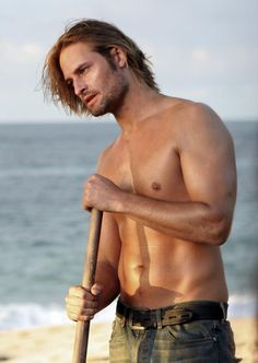 Josh Holloway....we need to go back to that island...