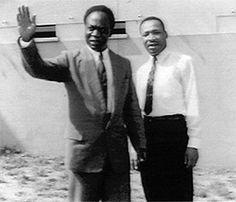 MLK and Kwame Nkrumah