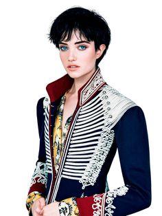 Photography:Patrick Demarchelier Styled by: Sarajane Hoare Hair: Ward Stegerhoek Makeup: Fulvia Farolfi Model:Grace Hartzel