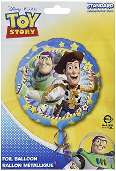 Anagram International HX Woody And Buzz Packaged Party Balloon Multicolor >>> Want additional info? Click on the image.  This link participates in Amazon Service LLC Associates Program, a program designed to let participant earn advertising fees by advertising and linking to Amazon.com.