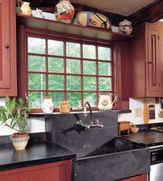 """Photo From Treena Crochet's Book, """"Colonial Style"""" (Taunton Press)The remodeled kitchen of this 1784 house has all the modern conveniences, ..."""