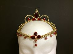 Esmeralda Rubi Ballet Tiara Made to Order by RegalRoseBoutique