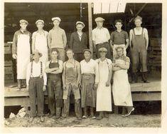 Jeffcoat Men in Salinas 1930s