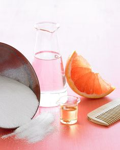 DIY Spray for Wavy Hair  Mix 2 teaspoons fine sea salt, 1 cup warm water, and 4 to 5 drops essential oil (such as grapefruit) in a reusable spray bottle. Shake well to dissolve salt. Spray on clean, well-conditioned damp hair. Run your fingers through to distribute, twisting sections of hair into ropes to further define waves. Let dry naturally, then run fingers through again to create loose, irregular ringlets.