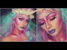 YouTube~DEHSONAE~ Glitter Unicorn~Halloween Make-up~Follow on Snapchat|Twitter|Instagram @DEHSONAE~