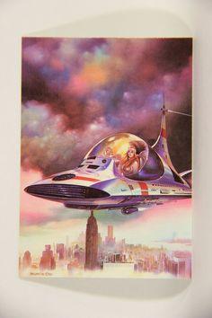 L010278 Boris Vallejo 1991 Card / Celestial Cab - 1981 - Card #81 / ARTWORK