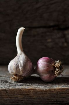food photography garlic
