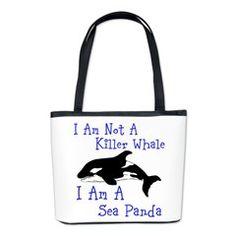 Killer Whale Bucket Bag