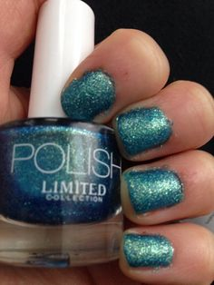 Marks & Spencer limited collection nail polish in Turquoise Mix