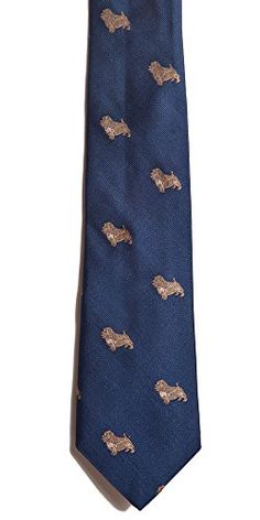 Norfolk Terrier Silk Necktie