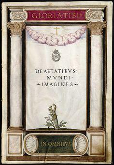 De Aetatibus Mundi Imagines -  Francisco de Holanda (1545-1573) Frontispiece by peacay, via Flickr