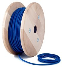 blue textile cable by Cablelovers
