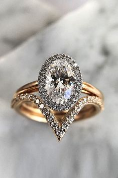 6 Most Popular Engagement Ring Designers ❤ engagement ring designers pave band oval cut rose gold set halo ❤ More on the blog: https://ohsoperfectproposal.com/engagement-ring-design