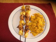 Pineapple and Tuna Skewers Recipe by KEVINKELLY