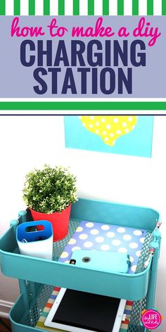 Monday Made It!: Laptop charging station | Classroom DIY ...