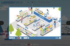 LAWSON GLOBAL SITE|Works|Wab Design INC. - ワヴデザイン株式会社