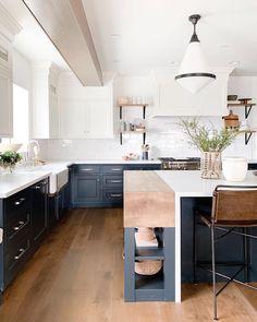 Choosing Your New Kitchen Countertops New Kitchen, Kitchen Dining, Kitchen Decor, Kitchen Wood, Kitchen Island, Kitchen Ideas, Butcher Block Countertops, Kitchen Countertops, Butcher Block Island