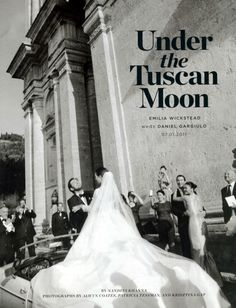 Wedding Under the Tuscan Moon