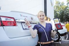 Romania's Sandra Izbașa gets a car after becoming Olympic Champion