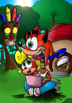 Date: 02 August 2012 Crash and Coco Bandicoot are (C) Activision