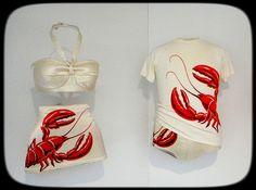 Cool Lobster swimwear